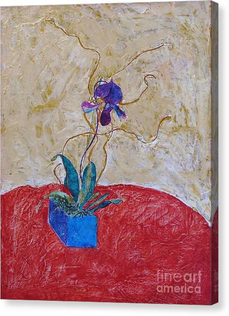 Christmas Orchid Canvas Print by James SheppardIII