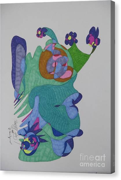 Christy's Jester Canvas Print by James SheppardIII