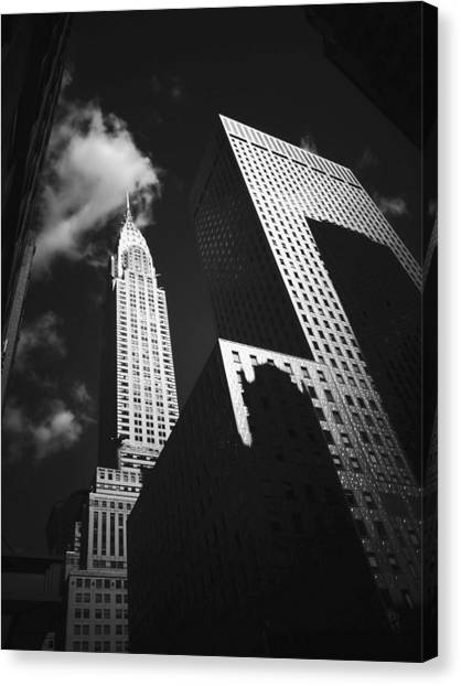 Chrysler Building Canvas Print - Chrysler Building - New York City by Vivienne Gucwa