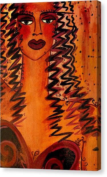 Cigar Makers Daughter Canvas Print by Helen Gerro