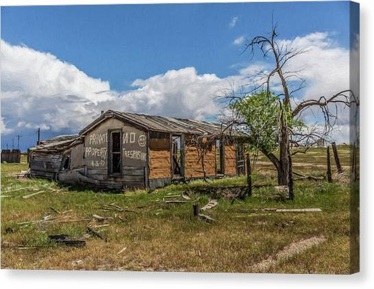 Cisco, Utah, Ghost Town Canvas Print