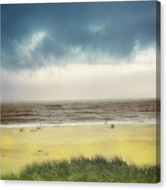 Clearing Storm Montauk Canvas Print