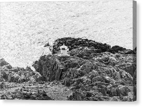 Cliffs At Kullaberg Canvas Print