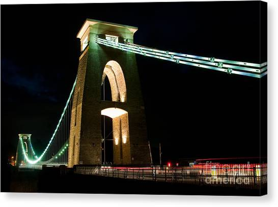 Clifton Suspension Bridge, Bristol. Canvas Print