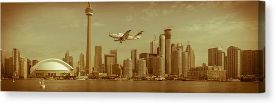Cn Tower Drive-by Canvas Print