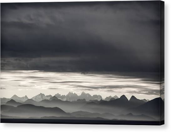 Vancouver Canvas Print - Coastal British Columbia by Carol Leigh