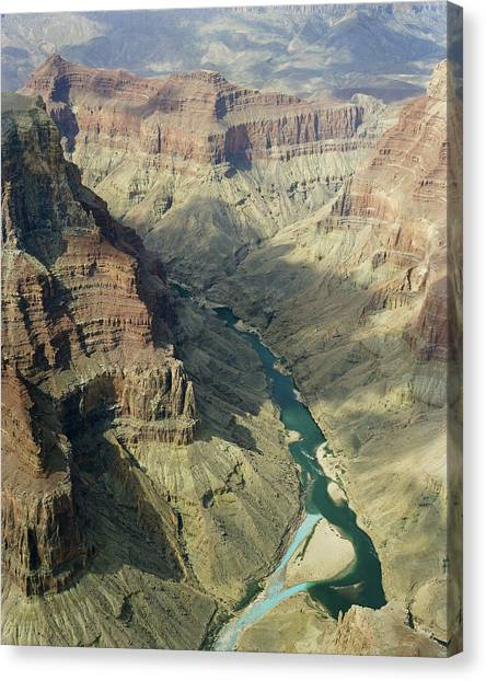 Colorado River In The Grand Canyon Canvas Print