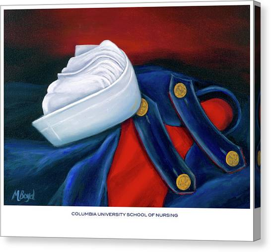 Columbia University School Of Nursing Canvas Print