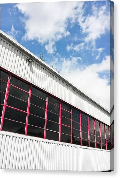Aspect Canvas Print - Commercial Building by Tom Gowanlock
