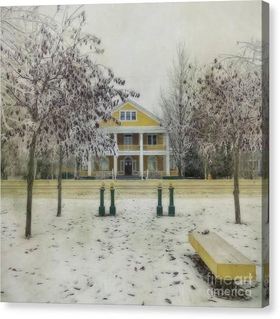 Yukon Canvas Print - Commissioner's Residence by Priska Wettstein