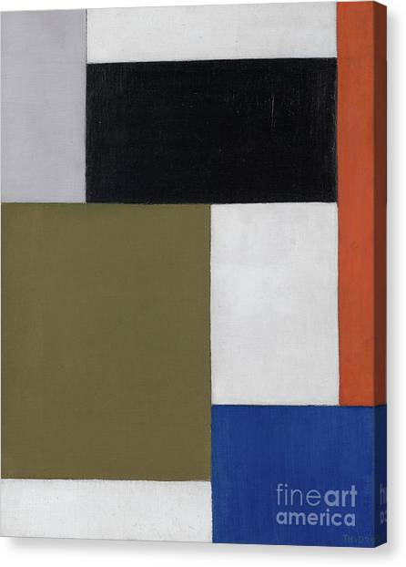 De Stijl Canvas Print - Composition by Theo van Doesburg