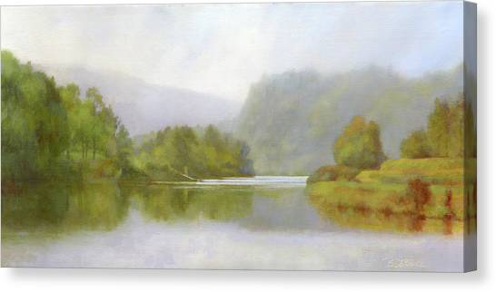 Connecticut River From River Road II Canvas Print