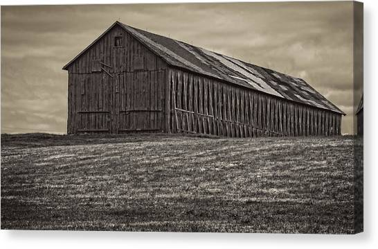 Connecticut Tobacco Barn Canvas Print