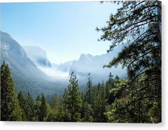 Controlled Burn Of Yosemite Canvas Print