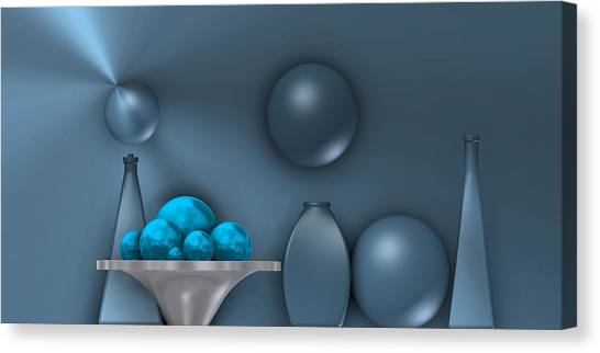 Cool Still Life Canvas Print