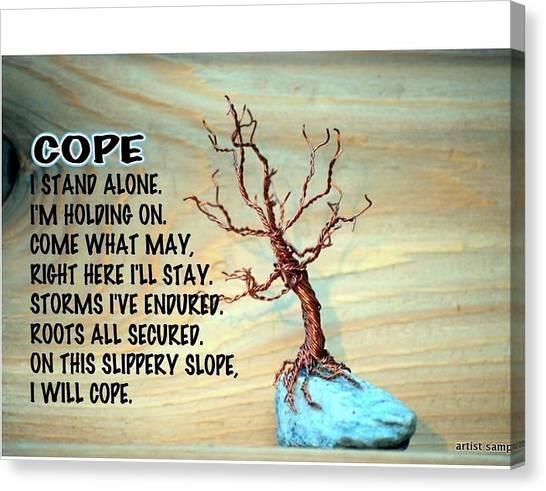 Cope Canvas Print