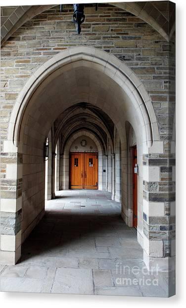 New York University Canvas Print - Cornell Law School by Jason O Watson
