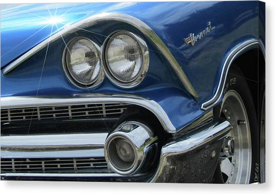 Coronet Eyes Canvas Print