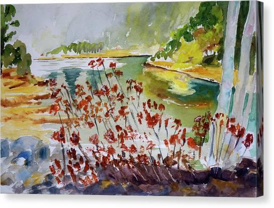 Corte Madera Creek Canvas Print