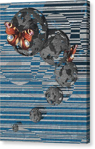 Cosmos Canvas Print by Haruo Obana