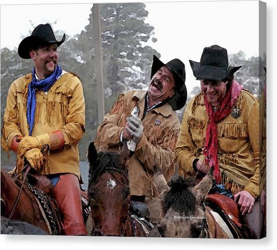 Cowboy Humor Canvas Print