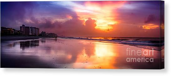 Crescent Beach September Morning Canvas Print