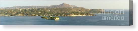 Crete Panoramic Canvas Print by HD Connelly
