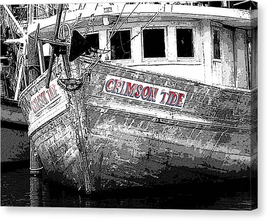 Crimson Tide Canvas Print