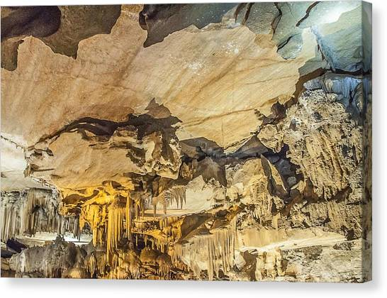 Crystal Cave Sequoia National Park Canvas Print