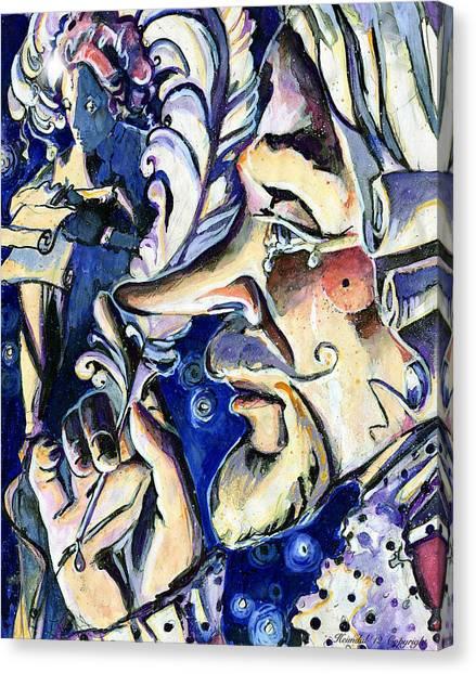 Cyrano Canvas Print
