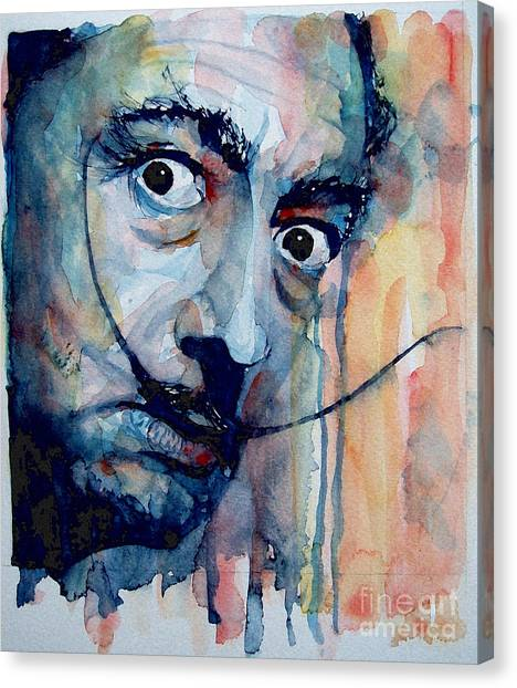 Salvador Dali Canvas Print - Dali by Paul Lovering