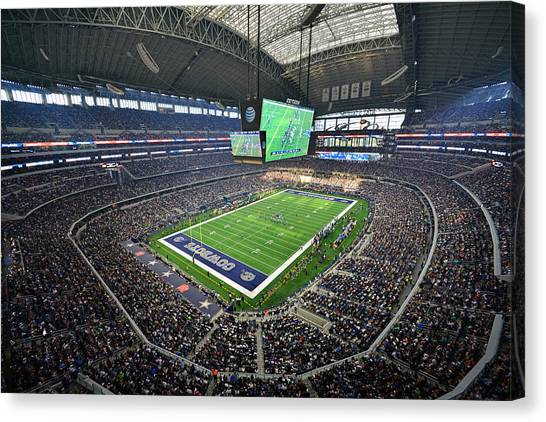 Dallas Cowboys Att Stadium Canvas Print
