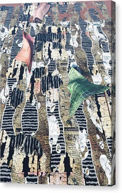 Dance Canvas Print by Haruo Obana