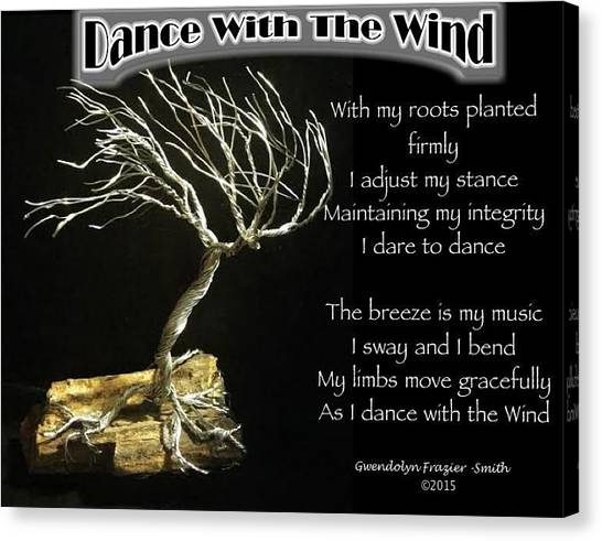 Dance With The Wind Canvas Print