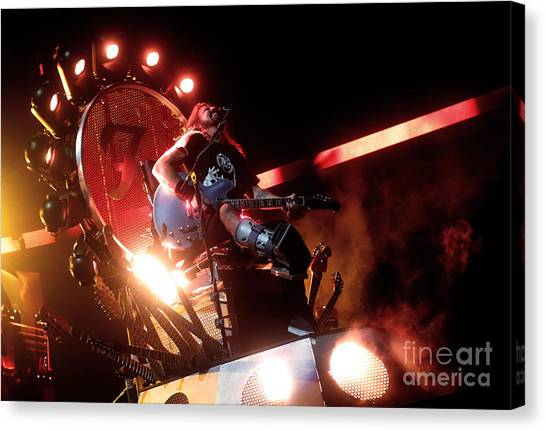 Dave Grohl - Foo Fighters Canvas Print