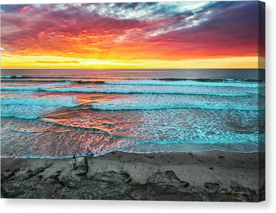 Day's Done Canvas Print