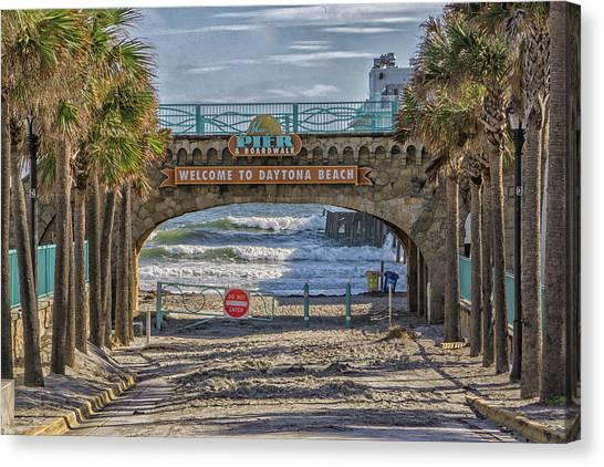 Daytona Beach Canvas Print