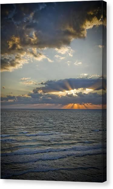 Daytona Sunrise Canvas Print