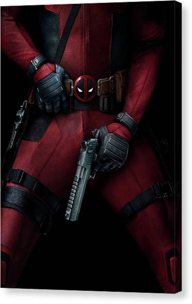 Special Forces Canvas Print - Deadpool 2016 by Geek N Rock