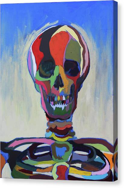 Death Canvas Print by Dave Montgomery