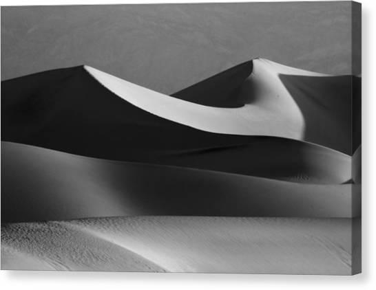 Death Valley Canvas Print - Death Valley Dunes  by Matt  Trimble