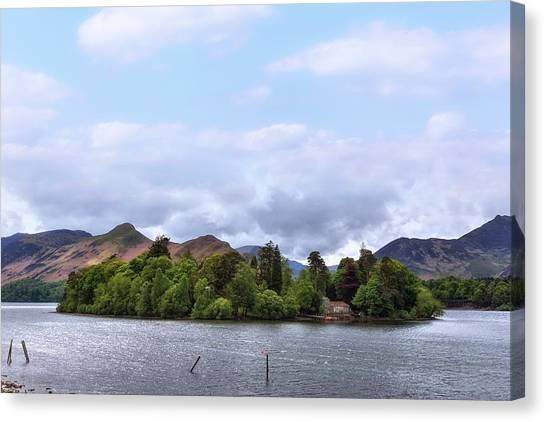 Keswick Canvas Print - Derwentwater - Lake District by Joana Kruse