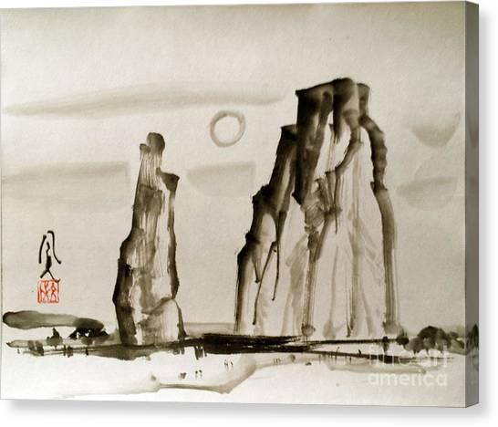 Desert 15050050fy Canvas Print