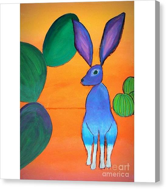 Small Mammals Canvas Print - Desert by Karyn Robinson