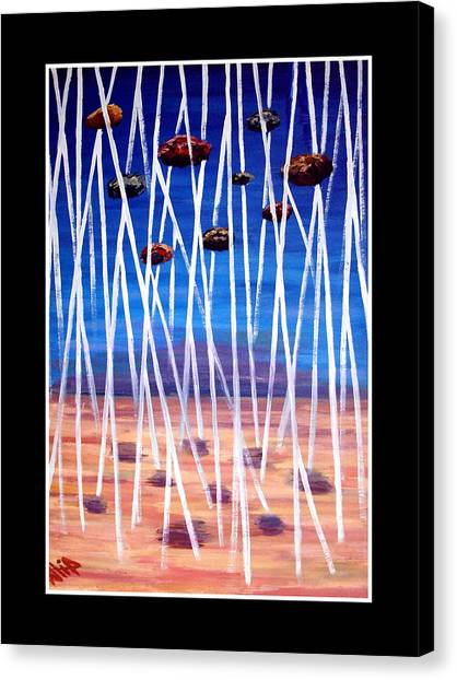 Distortion Canvas Print by Atia  Sadiq