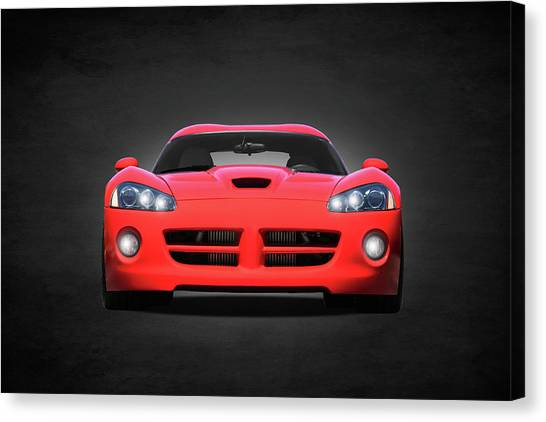 Vipers Canvas Print - Dodge Viper by Mark Rogan