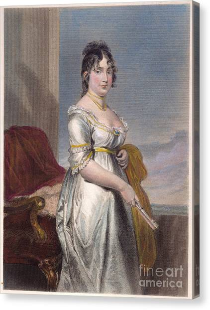 First Lady Canvas Print - Dolley Payne Todd Madison by Granger