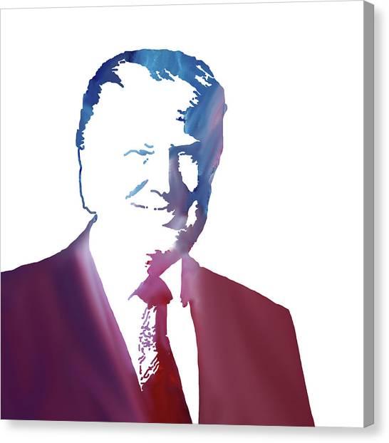 Republican Presidents Canvas Print - Donald John Trump by Art Spectrum
