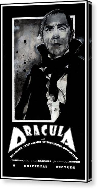 Dracula Movie Poster 1931 Canvas Print
