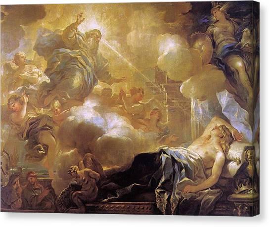 Dream Of Solomon Canvas Print
